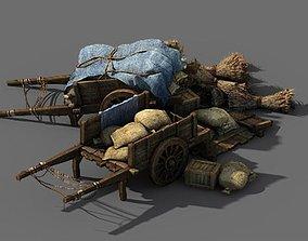3D Game Barracks - Food Truck