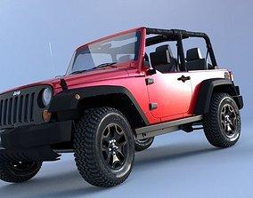 Jeep Wrangler suv 3D