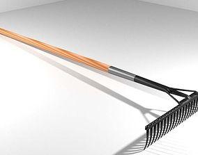 3D model Garden Tool - Rake