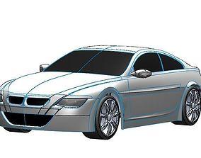 Automobile 3D model