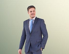 3D asset Liam 11115 - Business Man Standing
