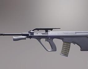 Steyr AUG A2 3D asset
