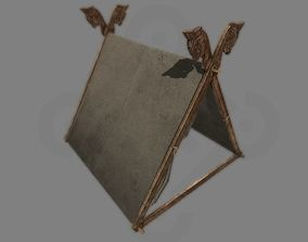3D model Viking Tent Gokstad