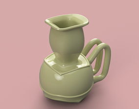 East style vase cup vessel v310 for 3d-print or