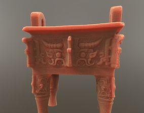 Chinese Bronze Ding Vessel 3D print model