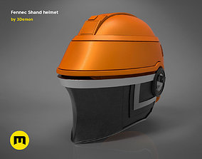 Fennec Shand helmet 3D printable model