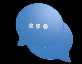 Communication Technology Icon 5 3D