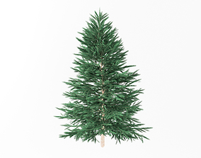 rigged Christmas tree model fir tree