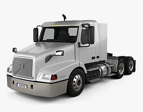 3D Volvo VNL WIA64T Day Cab Tractor Truck 2000
