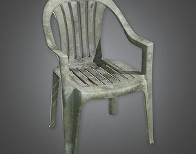 TLS - Lawn Chair - PBR Game Ready 3D model