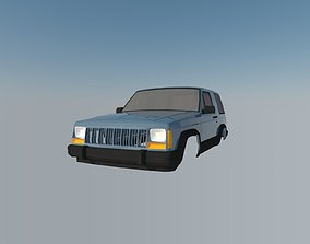 Jeep Grand Cherokee 3D printable model