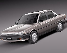 Toyota Camry 1987-1991 3D model