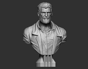 Logan Bust Sculpt 3D print model