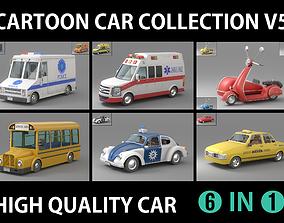 Cartoon Car Collection V5 3D model