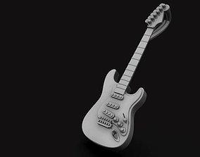 3D print model Fender Stratocaster Pendant