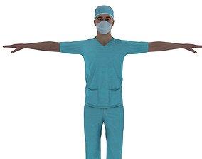 3D asset Doctor compounder OT man