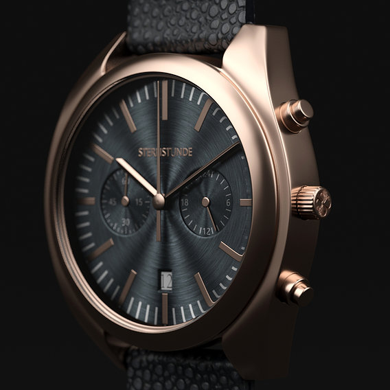 Sternstunde Mens Wrist Watch Product Visualisation