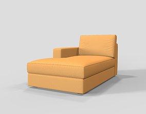 3D model Sofa Side Seater