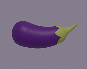 3D asset realtime Eggplant