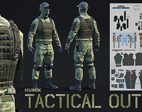 Soldier Outfit - Marvelous Designer 3D model