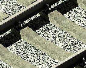 Russian rail road 3D printable model