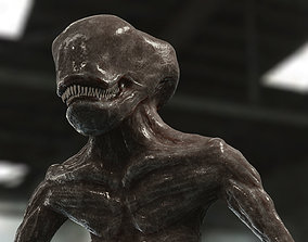 3D model Alien look like guy