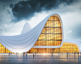 Heydar Aliyev Center 3D Model