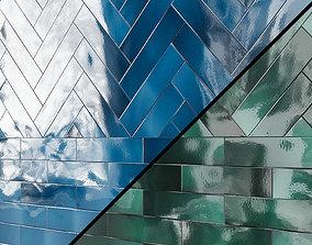 Ceramic wall tile EQUIPE CRACKLE 3D model