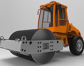 3D Roller Road Excavator II