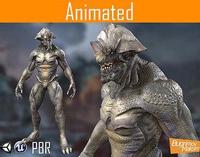 PBR Creature 01 3D asset