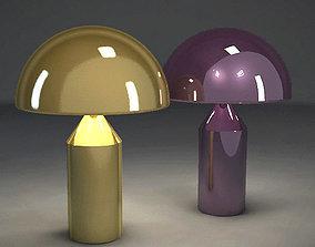 3D asset Oluce Atollo table lamp