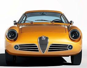 1960 Alfa Romeo Giulietta SZ 3D model