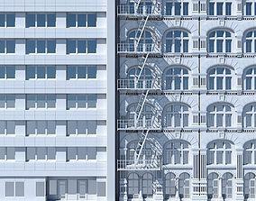 Commercial Building Facade 13 3D
