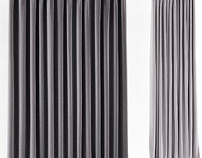 Shower curtain 2 3D model