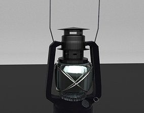 lantern 3D model realtime