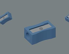 3D model realtime Pencil Sharpener