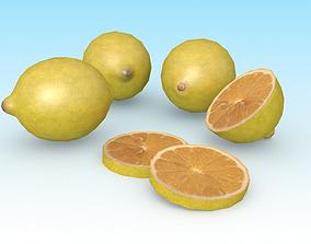 3D model Lemon