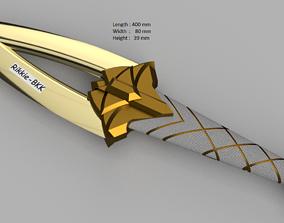 LEAGUE OF LEGENDS AKALI DAGGER KDA 3D printable model