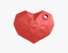 3D print model figure Heart keychain