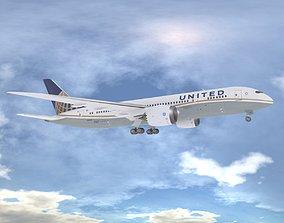 Boeing 787-8 Dreamliner 3D