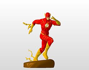 The Flash Diorama 3D print model