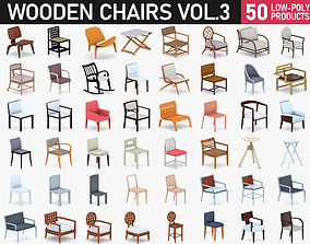 Chairs Collection Vol 3 3D model