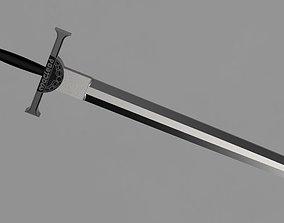Highlander Movie Sword Cosplay Replica Prop 3D print model