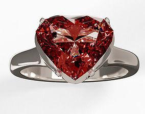 Diamond Ring present 3D model