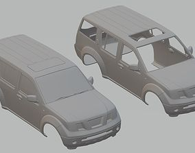 Nissan Pathfinder Printable Body Car