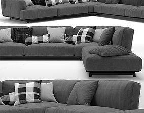 3D sofa Tribeca By Poliform