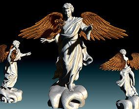 Arch-angel Uriel-Oriel-Auriel- CNC - Wood 3D print model 3
