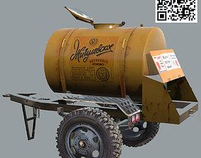 Standart USSR Barrel of beer ACTP-09 3D model