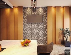 3D kitchen modern