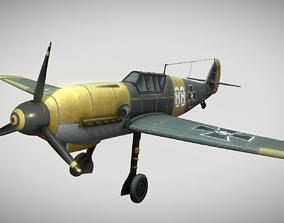 Messerschmitt Bf 109 Hand-Painted 3D asset